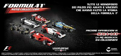 Formula 1 1/43 Auto Collection - Ferrari Mclaren Mercedes Senna Schumacher Prost