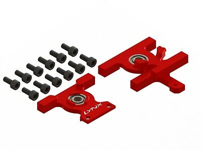 Lynx Blade 180 CFX Red Tail Gear Mounts - For Lynx Boom Mount LX1621