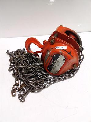 Jet Equipment & Tools 1 Ton Chain Hoist L-90
