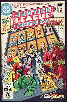 Justice League Of America #195 Vf/nm Jsa Vs Secret Society