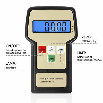 Segawe Refrigerant Electronic Charging/Recover Scale Capacity 220 Lbs With Case