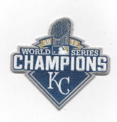 Official 2015 MLB World Series Champions Kansas City Royals Ring Ceremony Patch