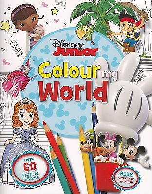 Disney Junior Colour My World - Colouring and Activity book