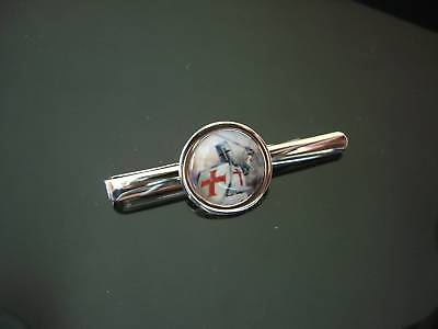Knights Templar Crusader  Tie Slide Bar  Free Uk Post