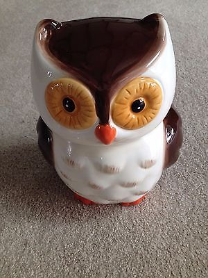 Adorable Mossy Oak  Owl Cookie Jar