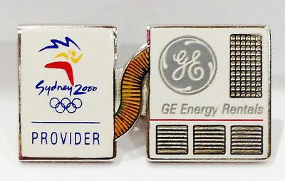 Ge Energy Rentals Sydney Olympic Games 2000 Pin Badge Collect #754