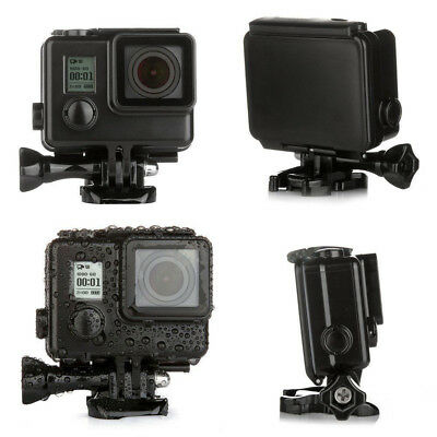 Black Underwater Waterproof Diving Hard Housing Case For GoPro HD Hero 3 3+ 4