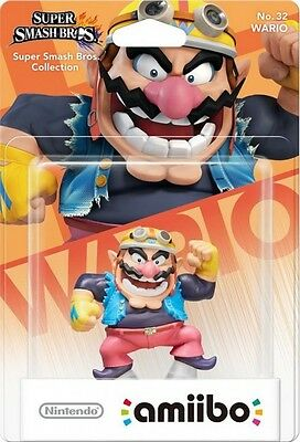 Amiibo Smash Bros. Wario  - Wii UBRAND NEW