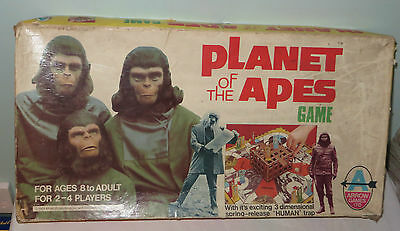 Vintage Planet of the Apes Board Game By Arrow 1974. No 6918. Rare