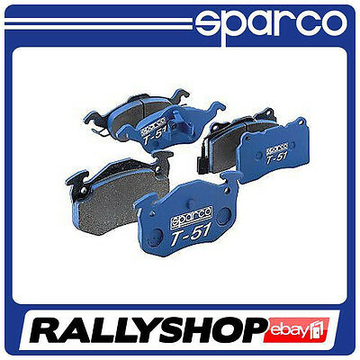 SPARCO T-51 BRAKE PADS, OPEL VECTRA B, FREE DELIVERY WORLDWIDE!!!  (front axle)