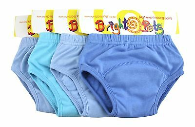 Bright Bots Potty Training Washable Pull Up Trainer Pants 4 pack Small Boy - PUL