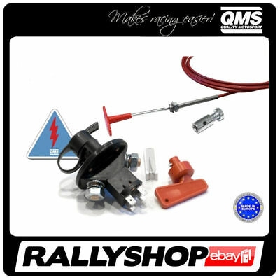 QMS KIT: Battery Swith + Link + Nipple + Sticker CHEAP DELIVERY WORLD,