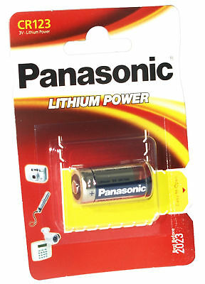 Pila Cr123 Panasonic 3V Lithium Battery Power Litio Pilas 3 V