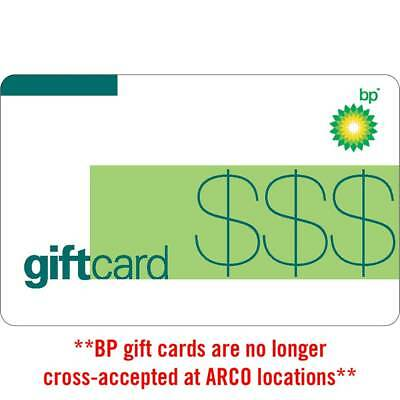 $250 BP Gas Physical Gift Card - Standard 1st Class Mail Delivery