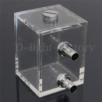 200ml Acrylic Liquid Water Cooled Brushless Pump Tank For CPU Water Cooling NEW