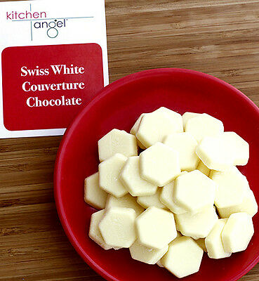 Swiss White Couverture Chocolate (500g)