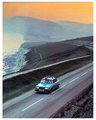 1980 Volvo 264 Bertone Factory Photo ca3616