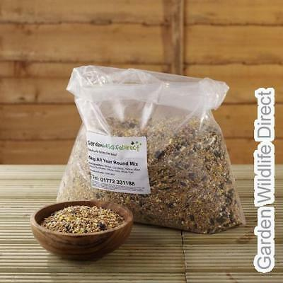 12.55kg not 12.5Kg Garden Wildlife All Year Round Bird Seed Feed Mix for Wild Ga