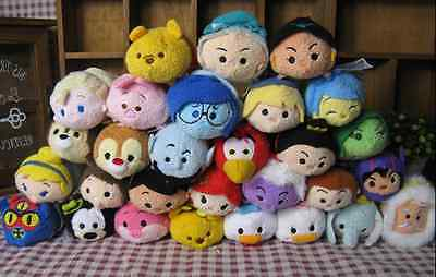 New Arrival Lots Of Disney TSUM TSUM Mini Soft Plush Screen Cleaner With Chain