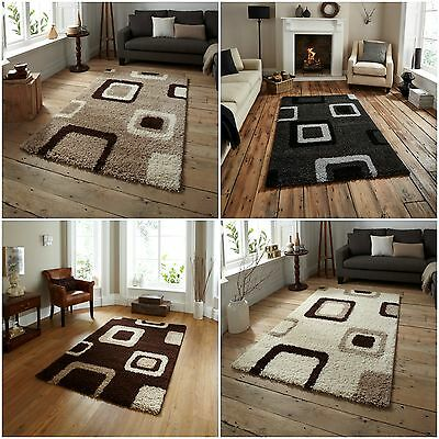 Modern X Large Soft Non Shed Shaggy Rug Boxed Thick Soft 5cm Area Rugs Mats Rug