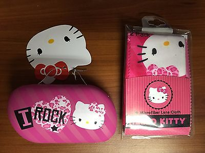 14df26e22 Sanrio Hello Kitty contact lens care kit in Pink ( I love rock)