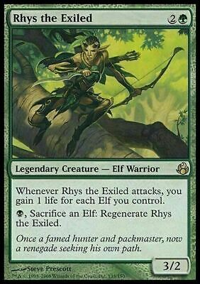 Rhys the Exiled ~ Morningtide ~ NearMint/Excellent+ ~ Magic The Gathering