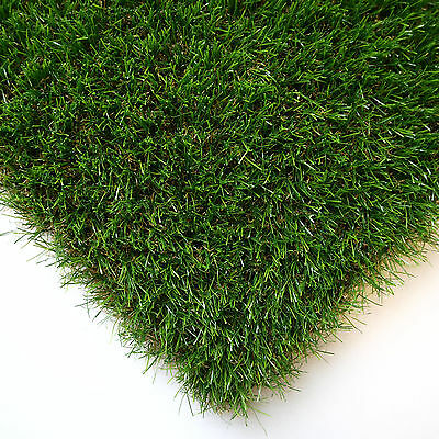 Artificial Grass Mat 30mm Thick - 50cm x 80cm - Greengrocers Fake Grass Mat
