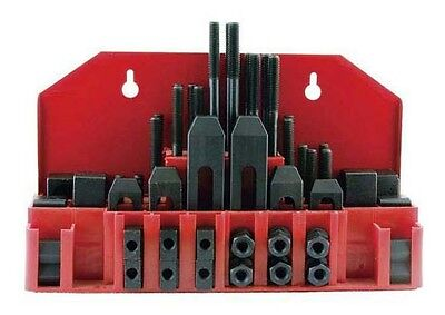 """58 Pc 3/8"""" Clamping Kit For Bridgeport Style Milling Machines & Drills M1080 New"""
