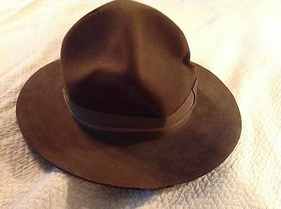 Vintage  Stetson Boys Scouts Of America Bsa Hat 7 1/8
