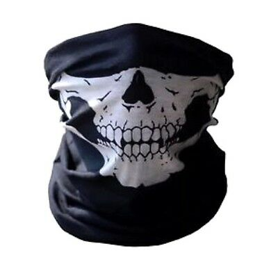Full Function Skull Face Mask Skeleton Motorcycle Biker Scarf Snood Ski Bandana