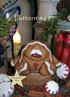 "Patti/'s Ratties Primitive Bee Bug Butterfly 3/"" Doll Ornament Paper Pattern 670"