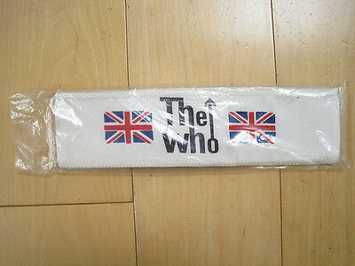 NEVER WORN 1984 vtg THE WHO HEADBAND hat HEAD BAND concert MUST SEE!!
