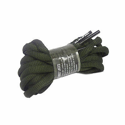 Boot Laces Snowboard Army Dark Green Oval DAKINE , One Pair