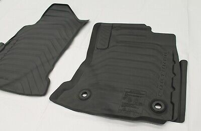 Toyota Fortuner Floor Mats Front Pair Rubber Manual From Aug 2015> New Genuine