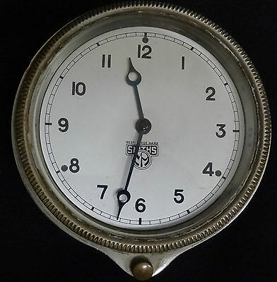 Incredible Vintage Smiths Automobile Dashboard Clock - Great Condition
