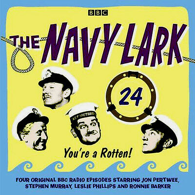 The Navy Lark Volume 24 NEW AND SEALED 2 CD AUDIO / TALKING BOOK * BBC COMEDY *