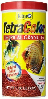 TetraColor Tropical Granules Brings Out Beautiful Colors of (Size: 10.58-Ounce)