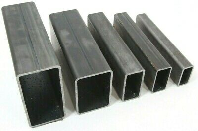 RECTANGULAR MILD STEEL Box Section 40 x 20, 50 x 25, 60 x 30, 75 x 50, 100 x 50