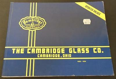 The Cambridge Glass Co. Cambridge, Ohio 1930-1934 Published 1991 Paperback