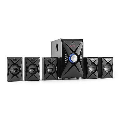 Altoparlanti Diffusori Usb Sd Aux 5.1 Home Cinema Theater Theatre Subwoofer