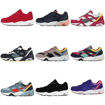 8797126cd30 Puma R698 Series Trinomic Mens Retro Running Shoes Sneakers Trainers Pick 1
