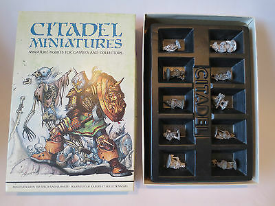 Citadel The Dwarf King's Court 1982 Boxed Rare OOP Role Playing Figures (G29)