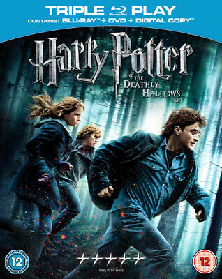 Harry Potter and the Deathly Hallows: Part 1 Blu-ray (2011) Daniel Radcliffe