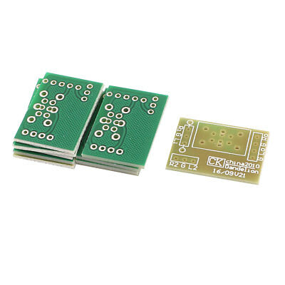 10Pcs Electrical PCB Plate Board for ALPS RK16 RK09 Pot Potentiometer