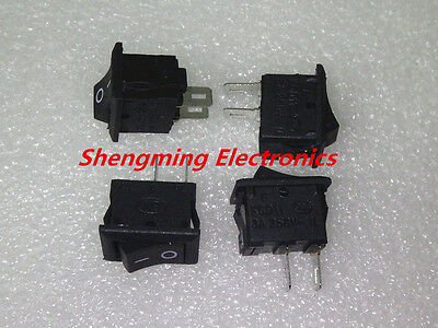 20pcs 2pins KCD11 On/Off 3A 250V 15x10mm Rocker Power Switch