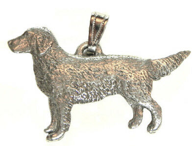 Golden Retriever Pendant Dog Harris Fine Pewter Made in USA jewelry