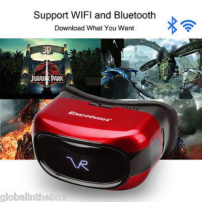 Excelvan Virtual Reality 3D VR Box Shinecon Headset Glasses for iPhone Android