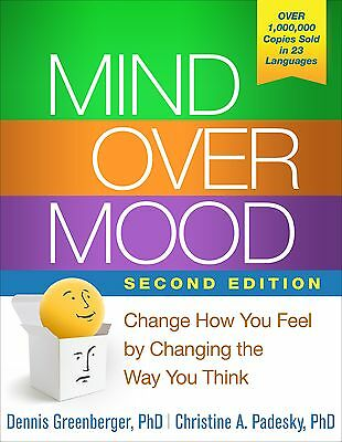 Mind Over Mood, Second Edition by Dennis Greenberger PhD (Paperback) CXX