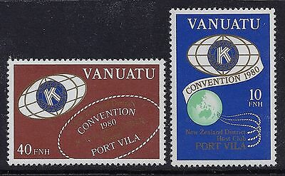 Vanuatu English 1980 Kiwanis International MNH