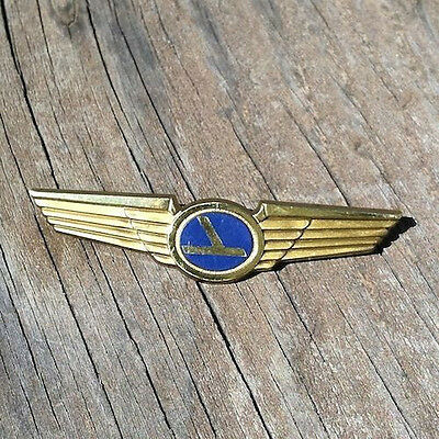 10 Vintage Original Pins EASTERN AIRLINES AIRPLANE PILOT KID WING Toy Pin NOS